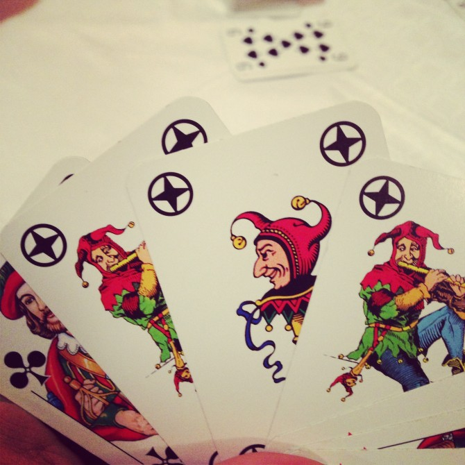Rauskommen aber ohne Joker #Rommee