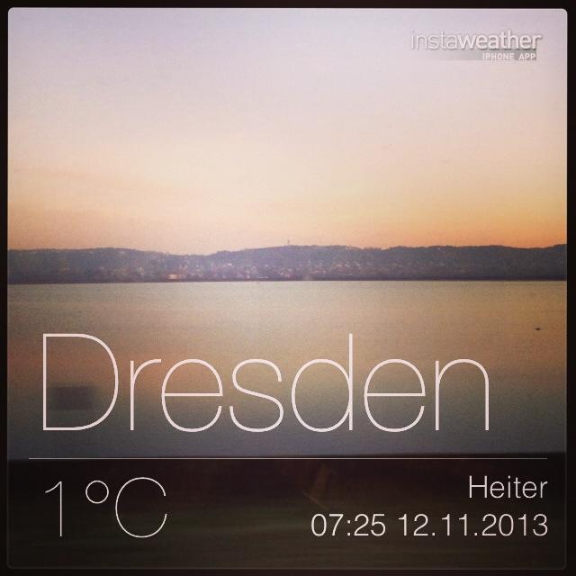 Dresden, 1 °C