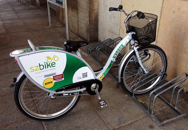 Meine erste Tour mit einem nextbike/sz-bike.